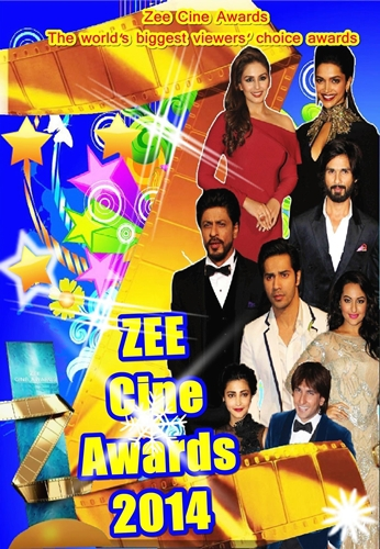 ��������� �                                                                                                                                                             Zee Cine Awards 2014