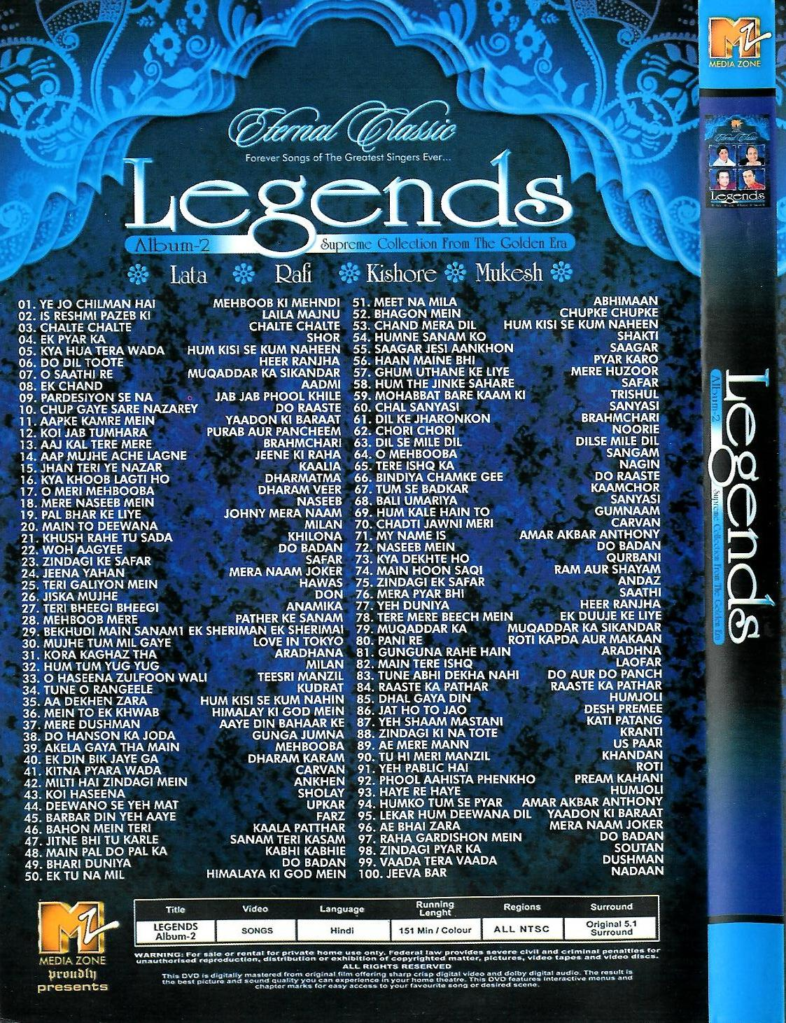 4 Legends - Eternal Classics