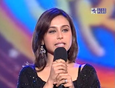 Star Voice Of India with Rani Mukarjee