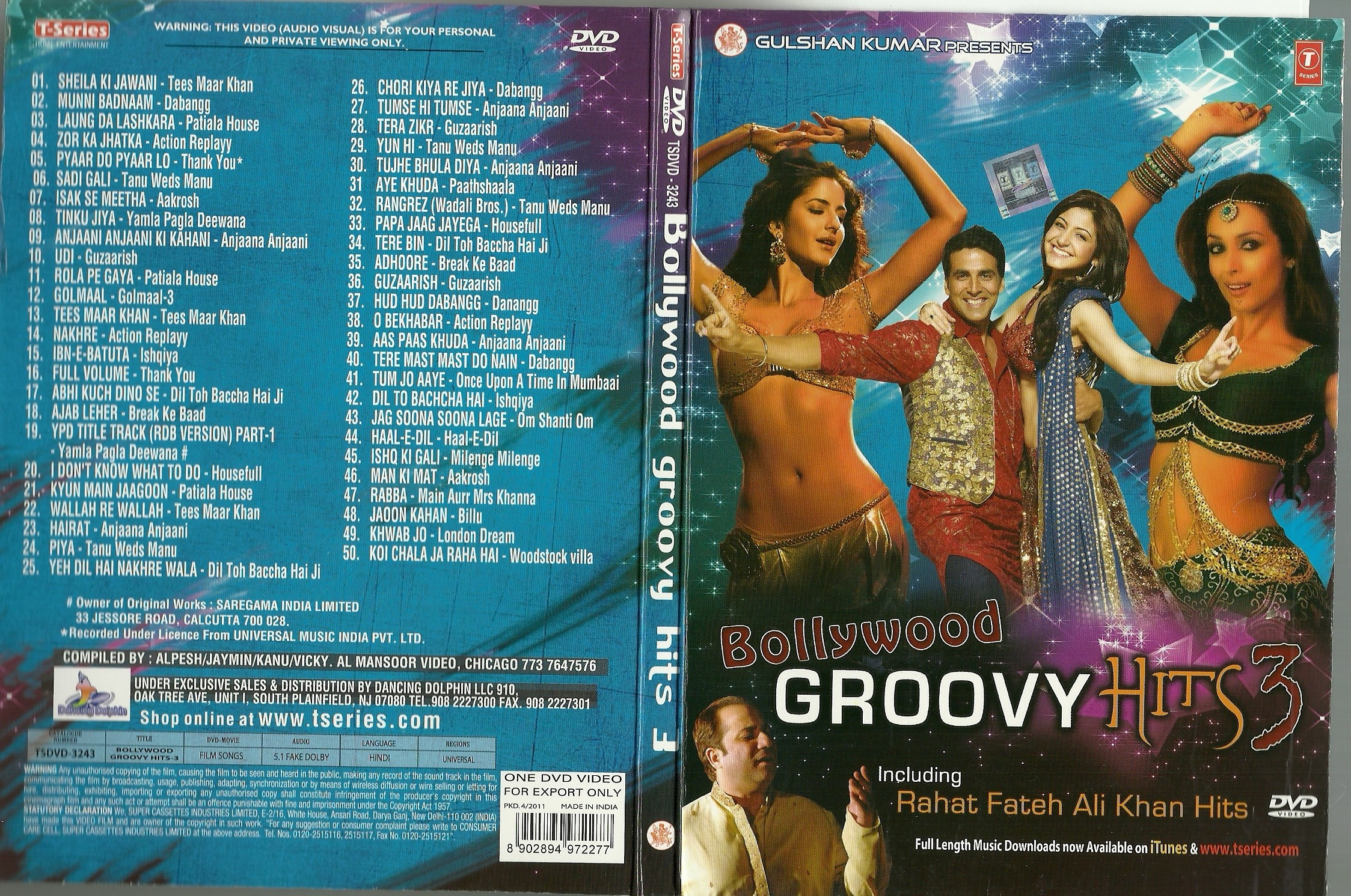 Bollywood Groovy Hits-2011