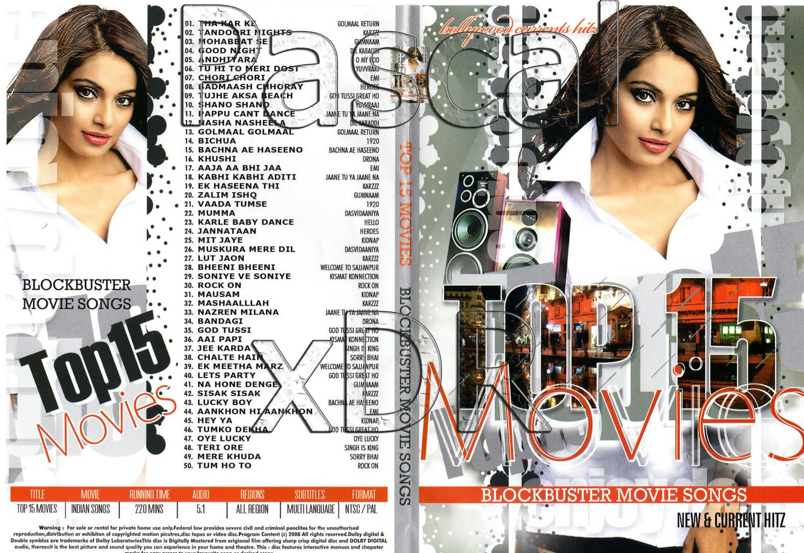 Top 15 Movies Songs Collection (2009)